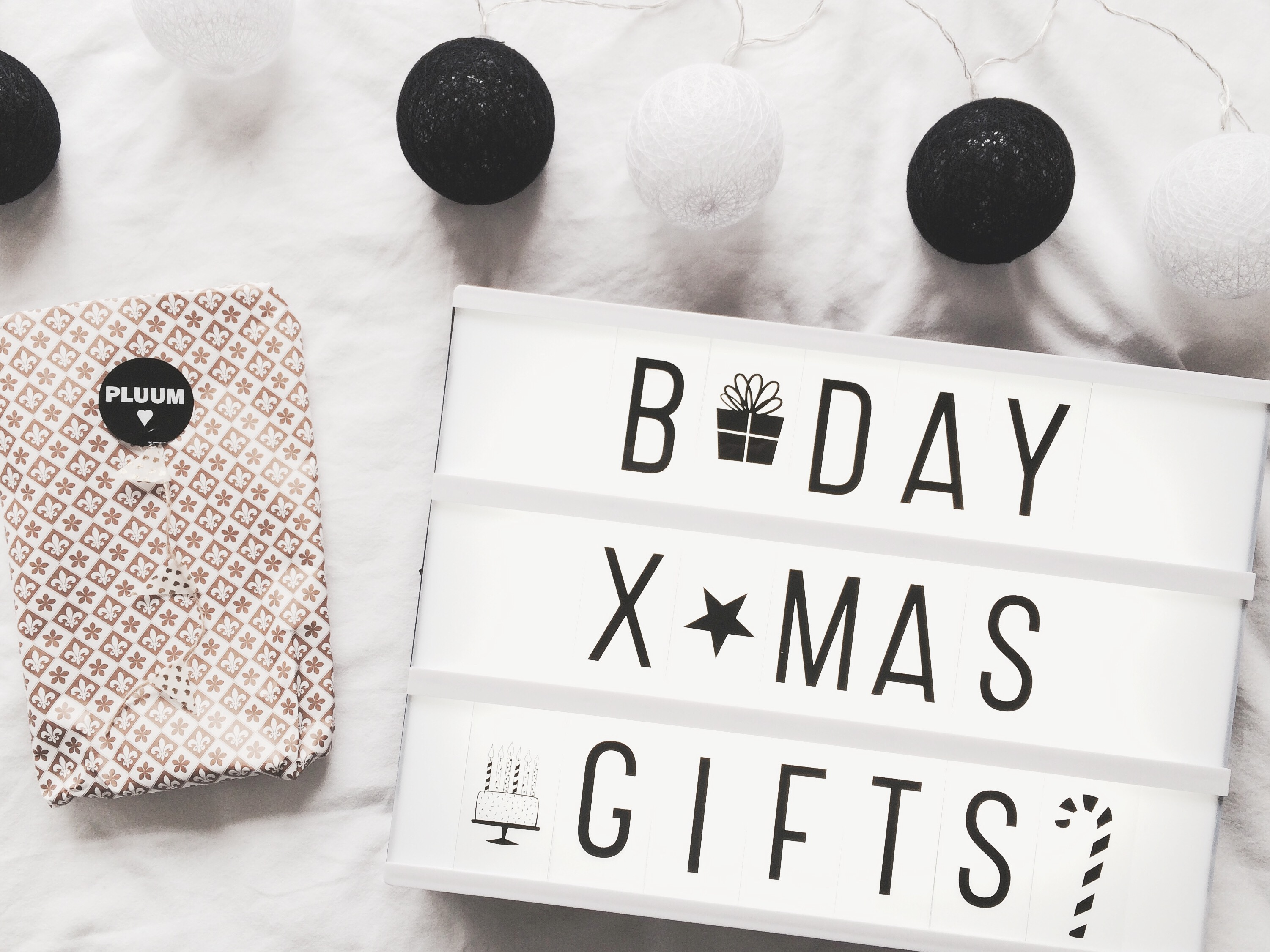 Be Merry, Grateful And Bright | Birthday & Christmas Gifts